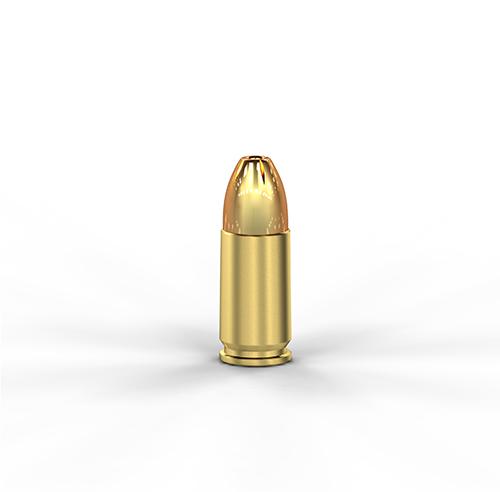 9mm Luger+P 124GR JHP Bonded