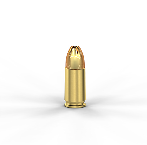 9mm Luger+P 147GR JHP Bonded
