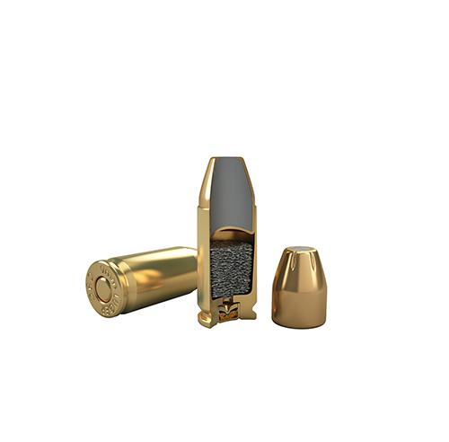 9mm Luger 95GR JSP Flat
